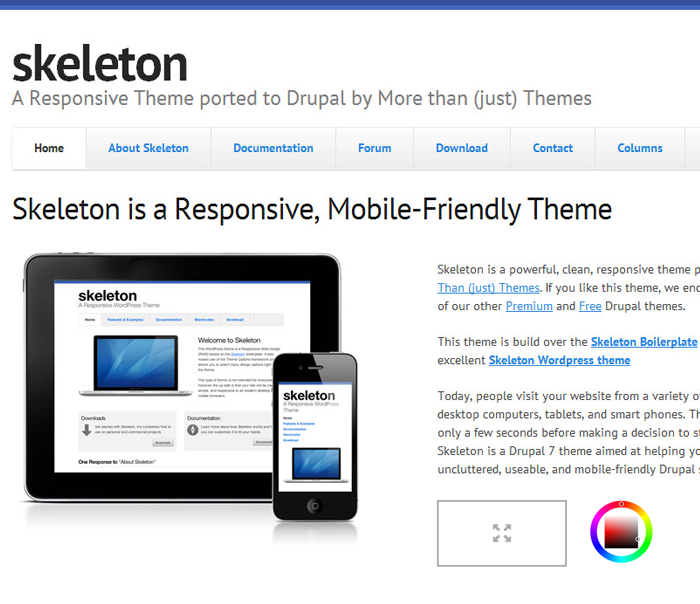 drupal free themes professional