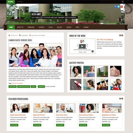 Education | Drupal Free Themes