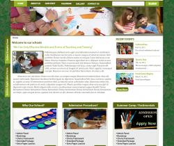 drupal themes school free